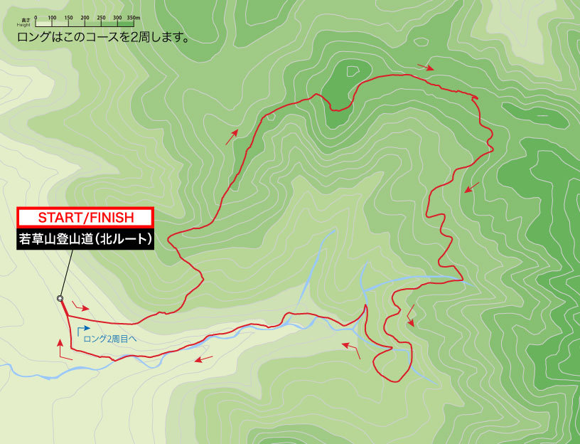 TRC奈良大会コースマップ